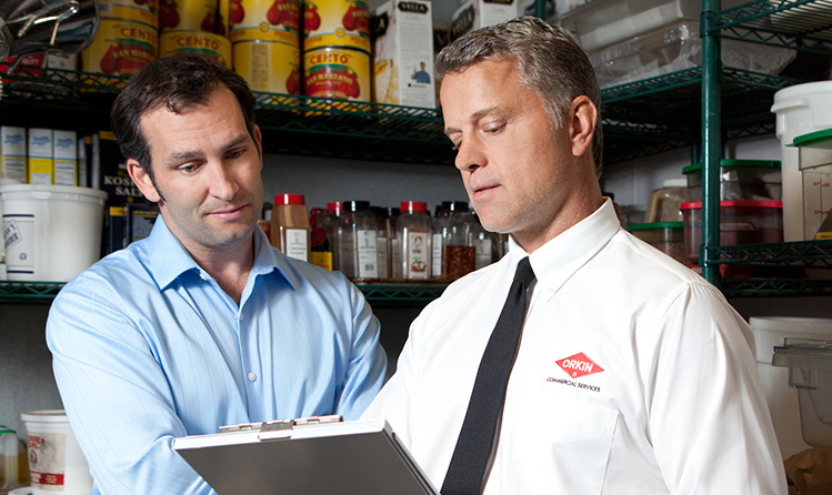 retail store pest control inspection
