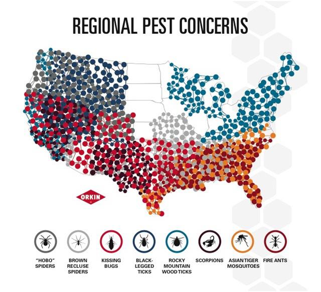 pest map