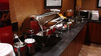 Residence Inn continental breakfast