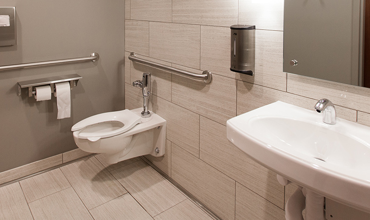 bathroom sanitation maintenance - Commercial Bathroom