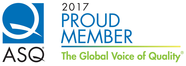 ASQ proud member logo